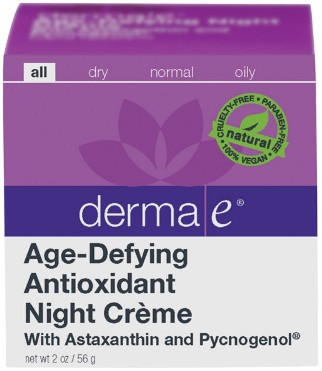 Age Defying Night Creme with Astaxanthin and Pycnogenol - 2 oz.