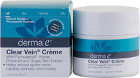 Clear Vein Creme / Spider Vein / Bruise Solution - 2 oz.